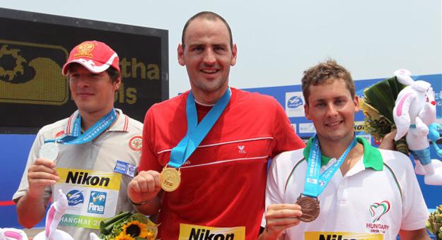 Петър Стойчев стана световен шампион по плуване (вестник Дневник )